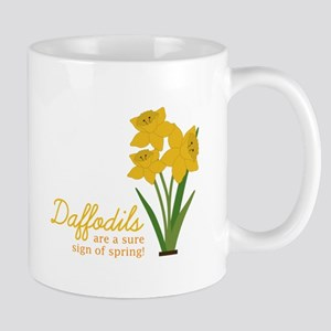 Sign Of Spring Mugs